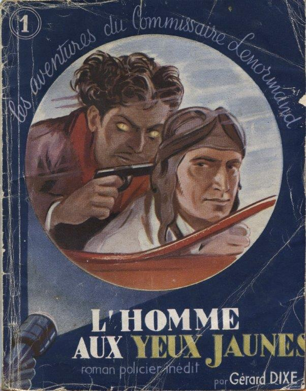 Detective Novel Series In France In The 1930s And 1940s