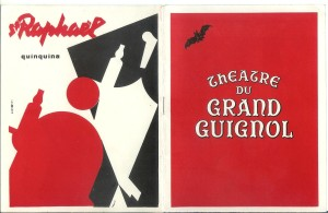 Grand Guignol programme 1