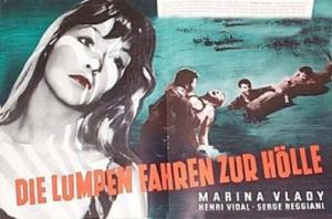 Les salauds affiche allemande 2